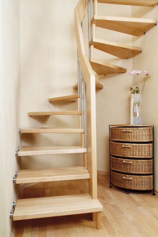 35 Space Saving Stairs Makeover Solutions For Your Home Loft | Space Saving Staircases For Small Homes | Design | Spiral Staircases | Staircase Design | Attic Ladder | Staircase Ideas