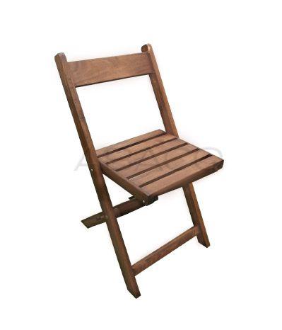 Silla plegable 1 list n de respaldo madera guatamb for Catalogo de sillas de madera