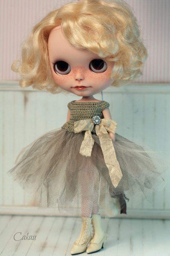 Tan Ballerina Dress: