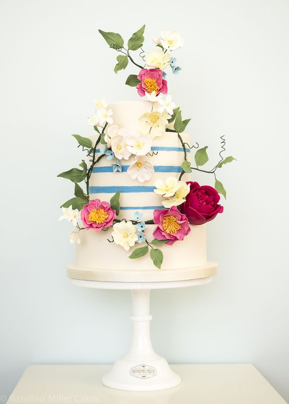 The top 12 wedding cake trends for 2016