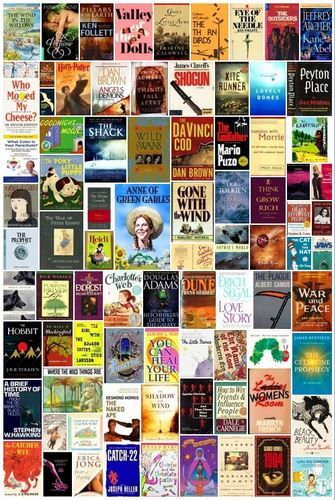 101 best selling books of all time how many have you read