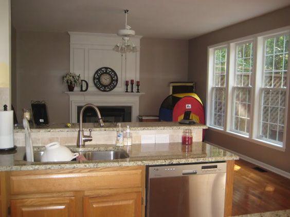 Oak Cabinets, Honey Oak Cabinets And Paint Colors On Pinterest