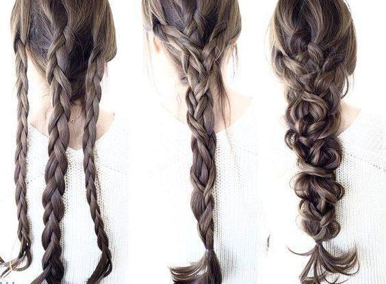 Diy Drei Stuck Frisuren Dunne Haare Flechten Flechtfrisuren Dunnes Haar