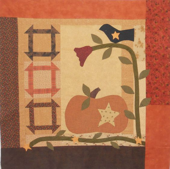 """""""Sweet Pickins"""".  The pattern is by Peg Springstead of Quilted Crow"""