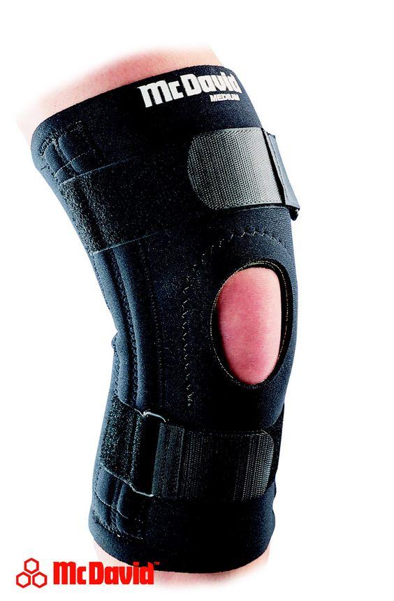 Kniestütze mit Patellaöffnung 421 (Level 2) :: http://www.reviwell.at/de/fitness/fitness-mcdavid/kniestutze-mit-patellaoffnung-421-level-2.html