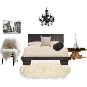 beige ft blanco y negro - acogedor dormitorio - deco. dormitorio principal