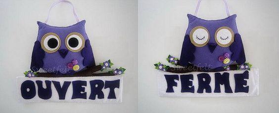 ♥♥♥ Para uma pastelaria que abrirá ao público dentro de dias... de um lado Aberto e do outro Fechado. | Flickr - Photo Sharing!