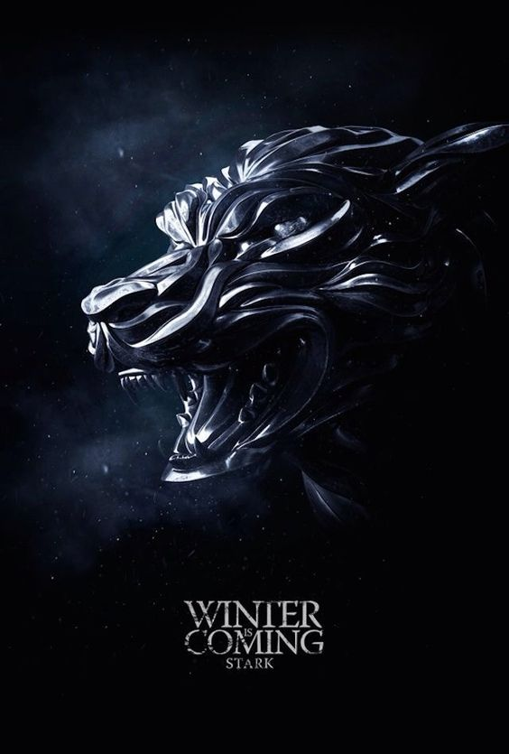 Game Of Thrones Wallpaper Winter Is Coming Stark Black Game Of Thrones Poster Winter Is Coming Wallpaper Game Of Thones