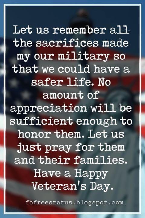 Veterans Quotes Of Appreciation