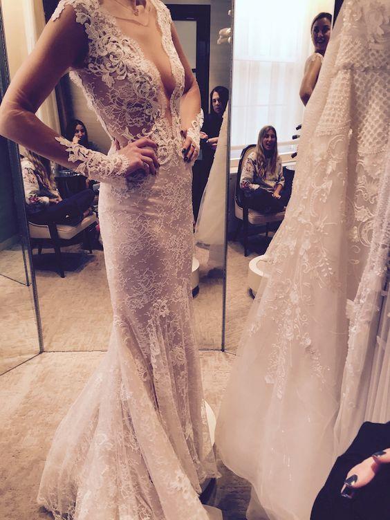 Whitney Port Tries on Wedding Dresses Ahead of her Wedding to Fiancee Tim Rosenman