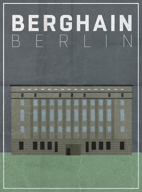 Berghain Poster