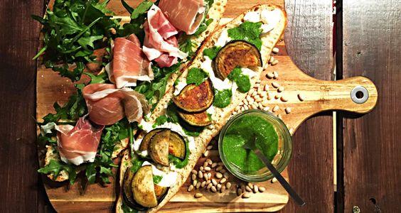 Italienisches Sandwich #kniftenextlevel