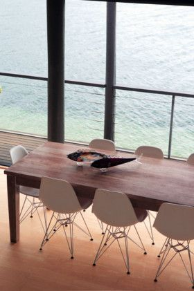 seaside home: Dining Rooms, Dining Room Sets, Favorite Places Spaces, Dining Table, Beach Houses, Interior Inspiration