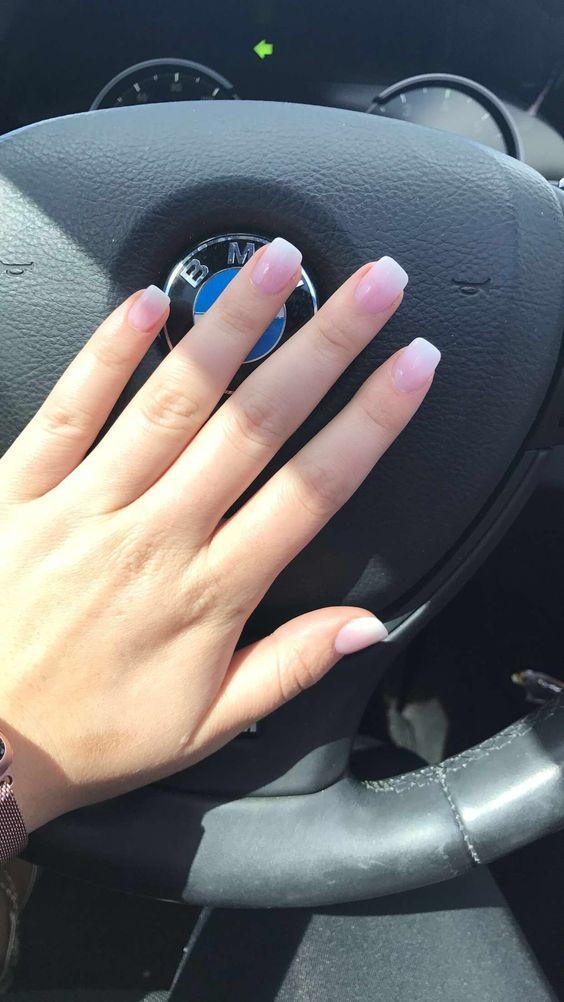 French ombré nexgyn nails
