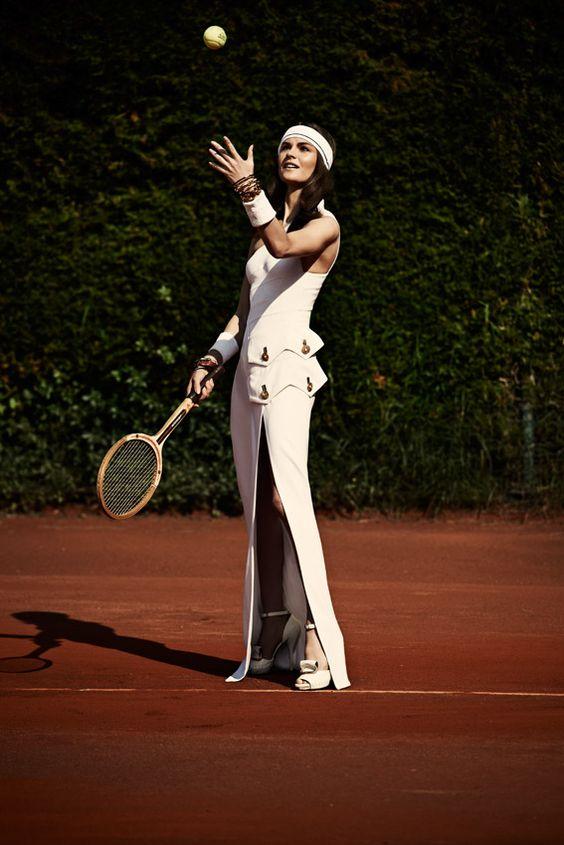 Habitually Chic®: Tennis Anyone?