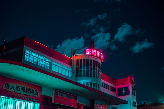 Rustic yet futuristic under a neon glow, photographer Elsa Bleda has captured a side of Johannesburg that many haven't seen before.