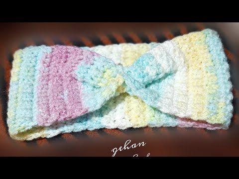 طريقة عمل بندانه للشعر كروشيه لزوم البرد Youtube Crochet Accessories Crochet The Creator