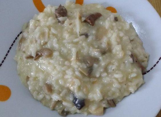 Risotto de boletus y champiñones para #Mycook http://www.mycook.es/cocina/receta/rissoto-de-boletus-y-champinones