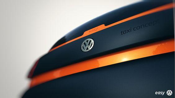 Volks Easy - Taxi Concept by Matheus Pinto, via Behance