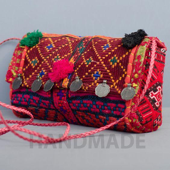 Embrague de Banjara bohemio Vintage embrague por JAIPURHANDMADE