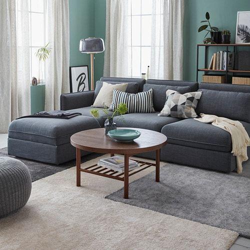 Stoense Rug Low Pile Off White 4 4 X6 5 Modern Furniture Living Room White Furniture Living Room Ikea Living Room