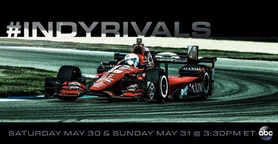Make sure you tune in to @ABC this afternoon 3:30 ET for Race 1 @detroitgp! #SNSRacing @SteaknShake