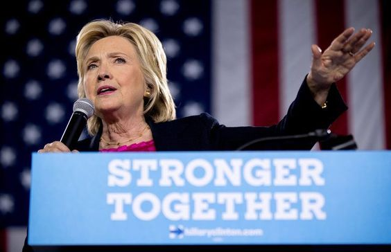 Hillary Clinton speaks at a rally at the University of South Florida in Tampa…