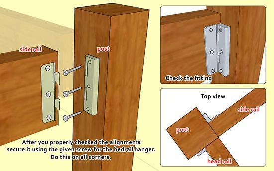 Diy Wooden Bed Frame Designs
