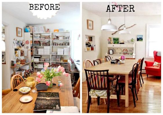 These Jaw Dropping Before and After Pictures Will Inspire You To Finally Declutter - Love and Marriage