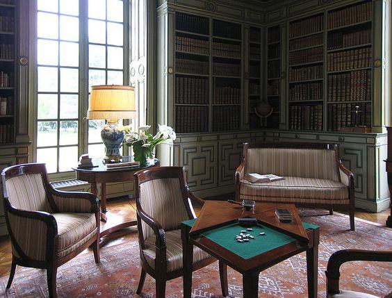Château de Cheverny - la bibliolthèque