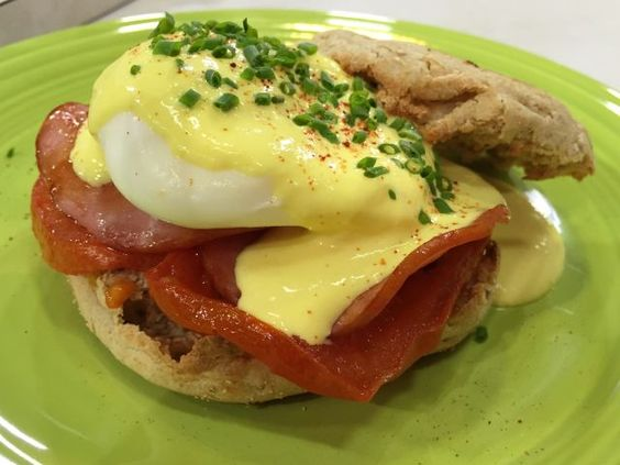 Eggs Benedict is a classic breakfast dish that's loaded with calories ...