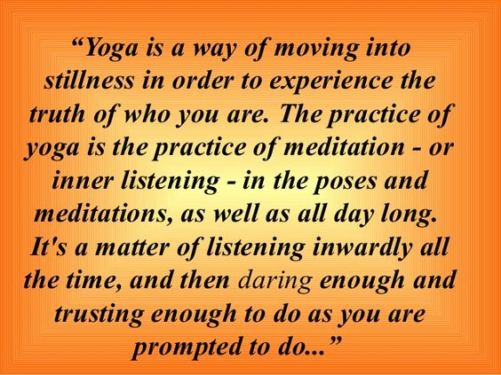 moving into stillness with yoga - Google Search