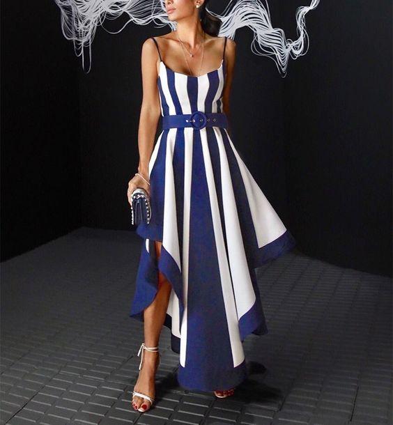 Formal Asymmetrical Maxi Dress