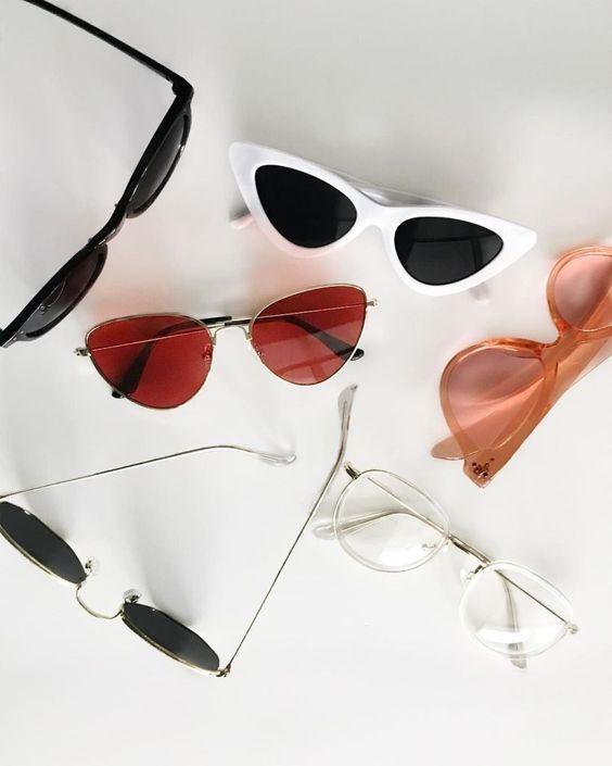Oculosdesol Feminino Blogueira Redondo Gatinho Tendencia