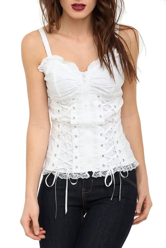 I love corset shirts... can't wait until I'm thin enough to wear one!!