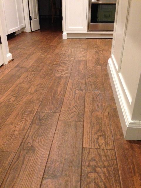 Flooring Marrazzi Gunstock Oak Porcelain Tile Home Depot Sable Brown Sanded Grout Which Looked