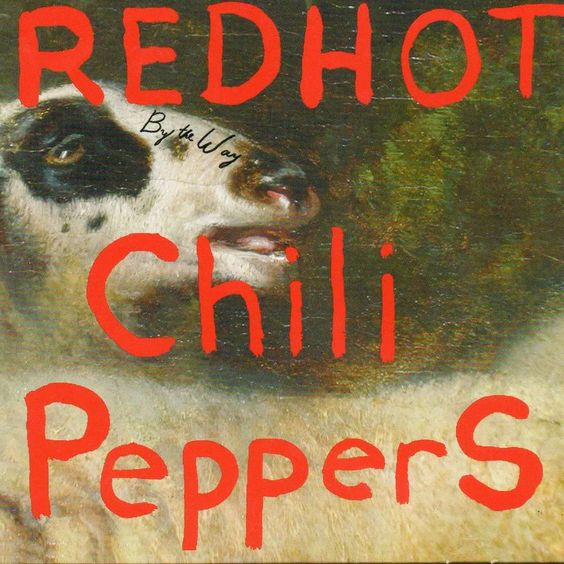 Red Hot Chili Peppers – By the Way (single cover art)
