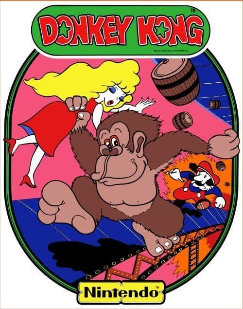 Donkey Kong Sideart Game On Grafix Donkey Kong Kong Classic Classic Video Games