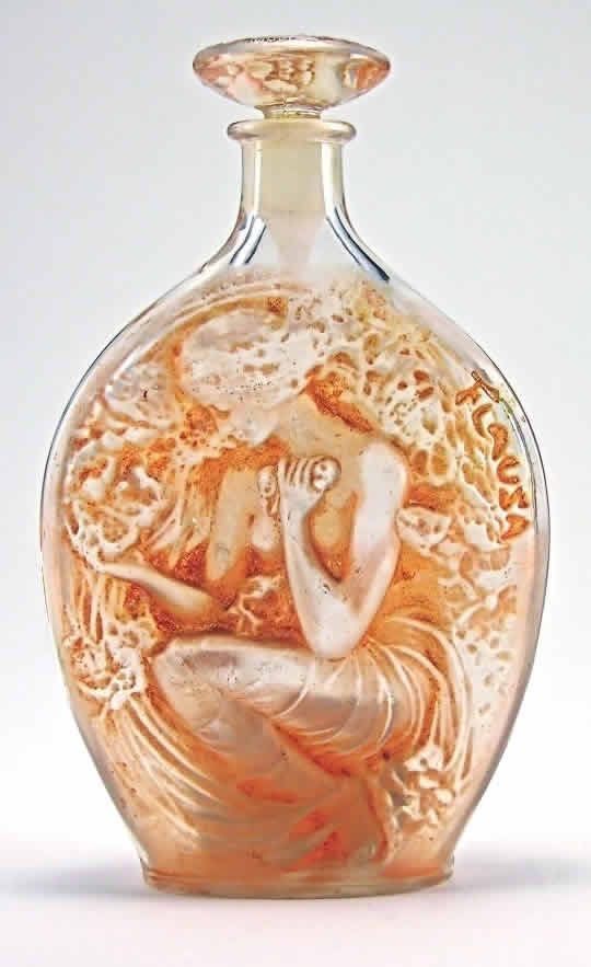 René Jules Lalique was a French glass designer known for his creations of glass art, perfume bottles, vases, jewelry, chandeliers, clocks and automobile ...