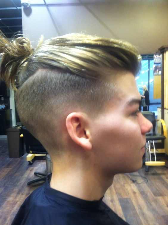 Undercut pompadour, Bald fade and High fade on Pinterest