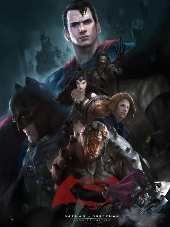 Batman v Superman: Dawn of Justice by Michael Chang.