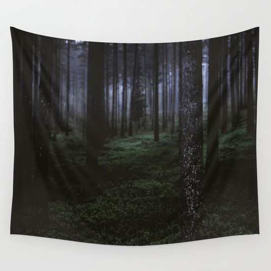 How deep will you go Wall Tapestry