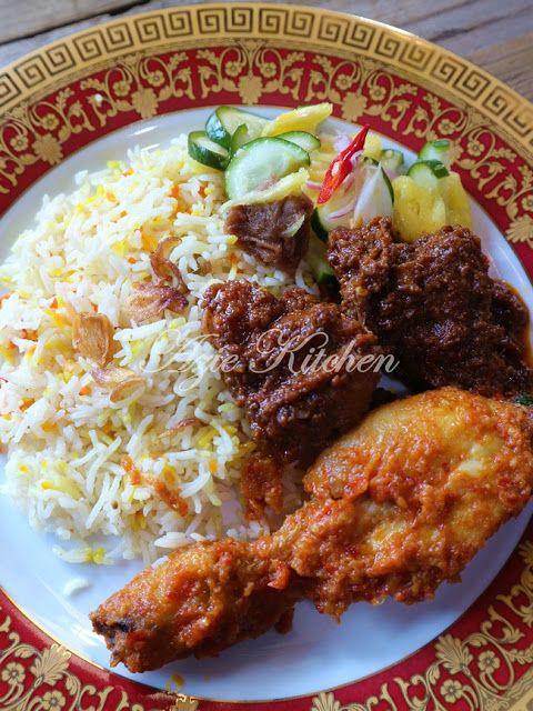 Nasi Beriani Johor Resep Nasi Resep Makanan Resep Daging