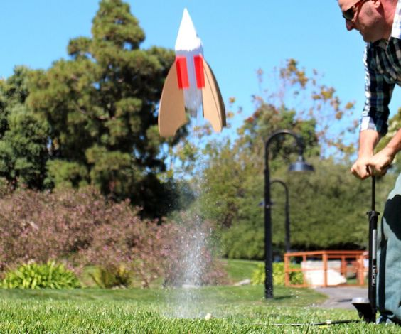 Soda Bottle Water Rocket: Pinterest • The World's Catalog Of Ideas