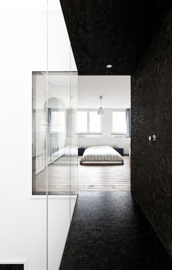 House – Fiat Lux – Label Architecture - Black Painted OSB