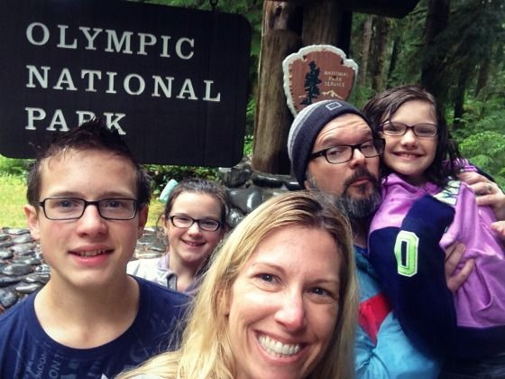 Camping in Forks via @jennyonthespot  #Twilight
