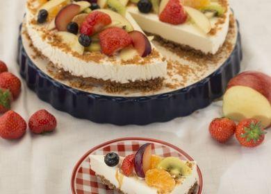 Philadelphia® cheesecake met speculaas   ILOVEBAKING.BE by Imperial