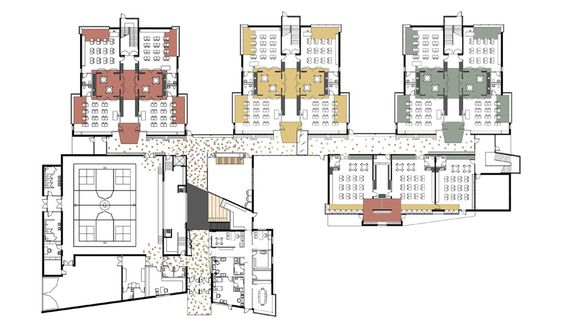 Elementary School Building Design Plans