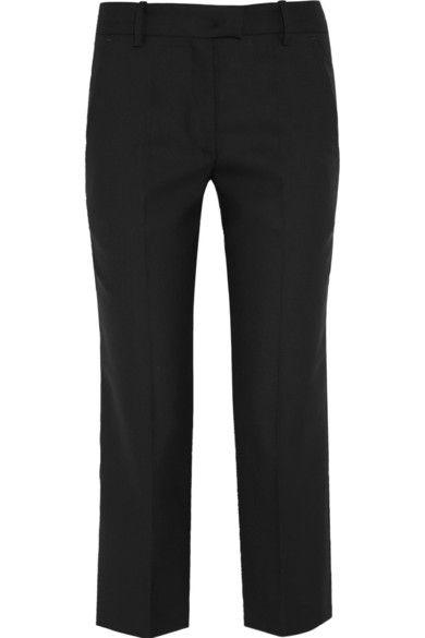 Isabel Marant| cropped wool-twill wide leg pants