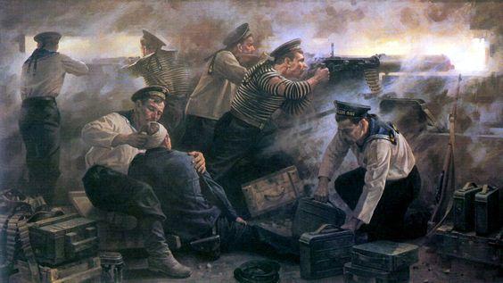 1942 Defensa de bunker - Sevastopol
